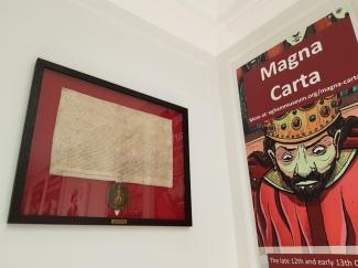 Magna Carta facsimile